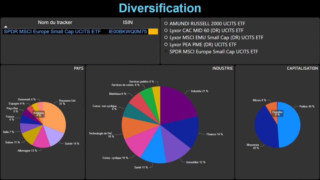 diversification IE00BKWQ0M75