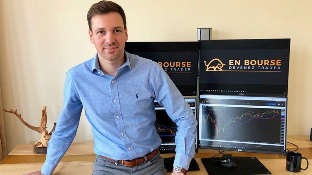 Sylvain March, fondateur du site En Bourse